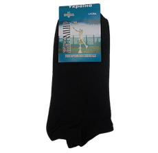 Короткі жіночі шкарпетки бавовна Універсальний 36-40 чорні