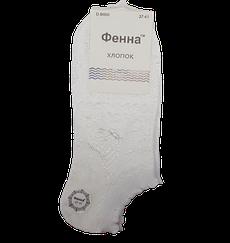 Жіночі короткі шкарпетки D-B690 37-41 білі