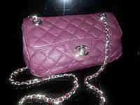 Клатч - сумочка  Chanel фиолетовый
