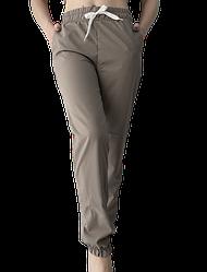 Жіночі брюки Elegance EL103 50 сірі