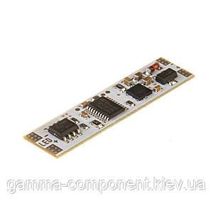 Сенсор оптический для светодиодной ленты с памятью 5А 12 в LED профиль (до 3см дистанц.)