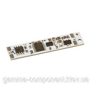 Сенсор-диммер оптический для светодиодной ленты с памятью 5А 12 в LED профиль (до 3см дистанц.)