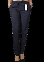 Жіночі брюки Elegance EL13 48 сині