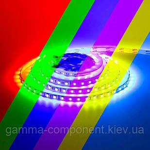 Светодиодная лента RGB SMD 5050 (60 LED/м), IP20, 12В- бобины от 5 метров