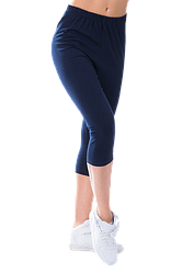 Жіночі капрі віскоза Kolo 2XL темно-сині