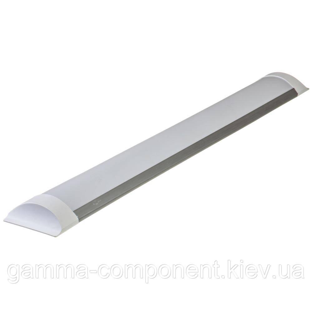 Светильник светодиодный линейный накладной 36W, нейтральный белый, IP20