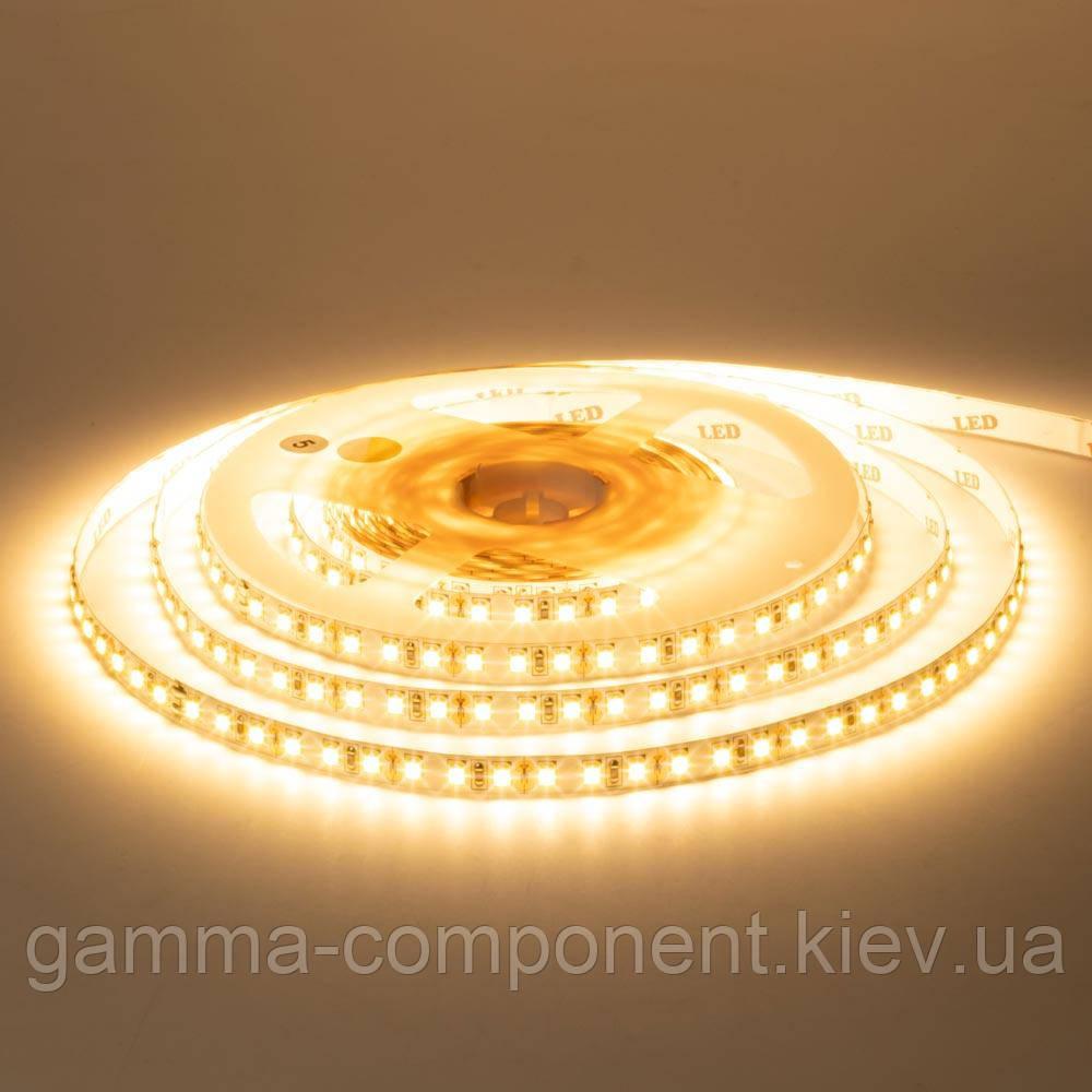 Светодиодная лента MOTOKO PREMIUM SMD 2835 (120 LED/м), теплый белый, IP20, 12В - бобины от 5 метров