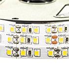 Светодиодная лента MOTOKO PREMIUM SMD 2835 (120 LED/м), теплый белый, IP20, 12В - бобины от 5 метров, фото 3