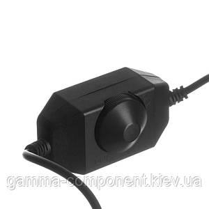 Диммер для світлодіодних стрічок 2 А, 8 Вт, чорний