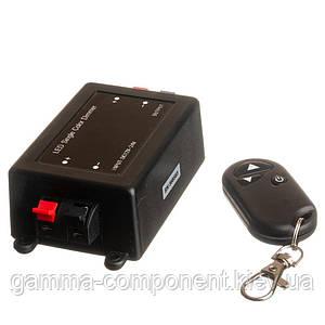 Диммер для світлодіодних стрічок 8 А, 96 Вт, радіопульт 3 кнопки