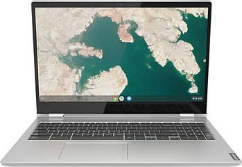 "Lenovo - C340-15 2-in-1 15.6"" Touch-Screen Chromebook - Intel Core i3 - 4GB - 81T9000VUS"