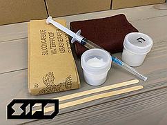 Ремкомплект для ванн акриловых, стальных или чугунных Sipo - для ремонта царапин, сколов и трещин
