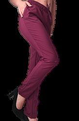 Жіночі брюки Elegance EL13 44 сливові