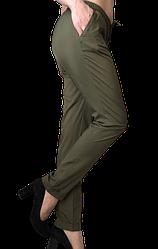 Жіночі брюки Elegance EL13 44 хакі