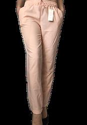 Жіночі брюки Elegance EL13 46 пудра