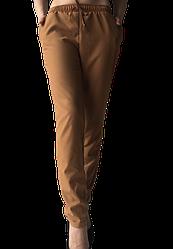 Жіночі брюки Elegance EL13 46 капучіно