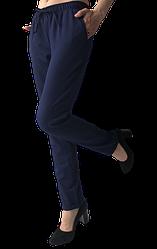 Жіночі брюки Elegance EL19 44 сині