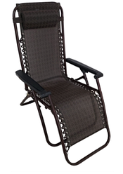 Кресло шезлонг садовое лежак Zero Gravity 120 кг