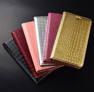 """Шкіряний чохол книжка протиударний магнітний вологостійкий для Huawei P8 Lite / Nova Lite / P9 Lite """"GOLDAX"""""""