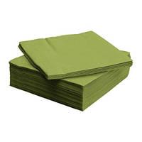 ФАНТАСТИСК Салфетка бумажная, классический зеленый 40x40 см