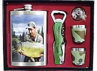 Подарочный набор с флягой для рыболова алNF4-134