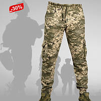 Военные штаны Джоггеры Пиксель Хлопок Летние 42-56 Брюки Карго тактические