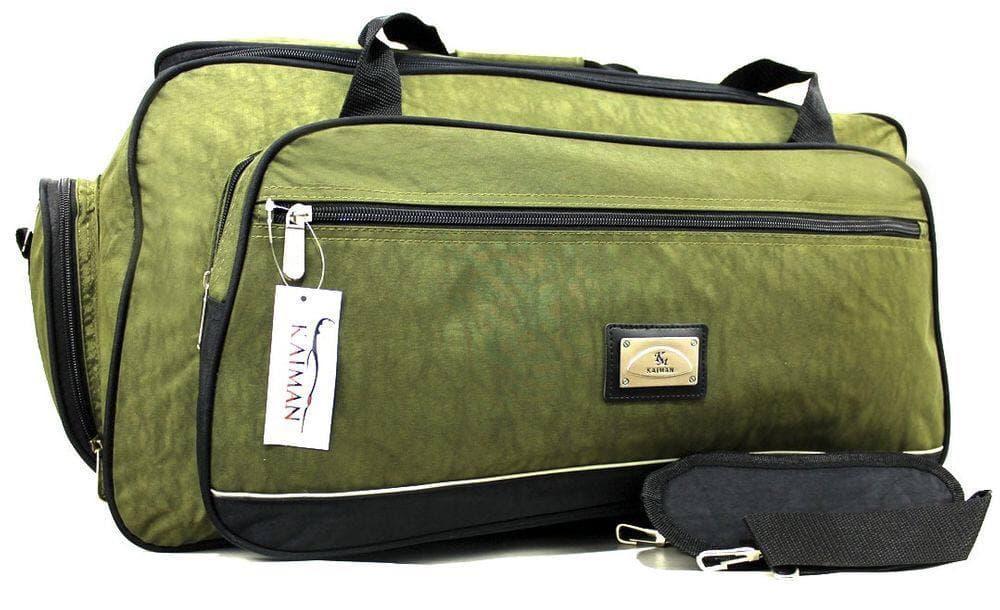 Большая дорожная сумка оливкового цвета 85 литров