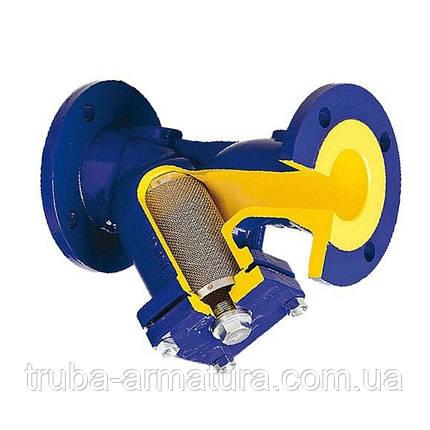 Фільтр осадовий чавунний фланцевий Zetkama 821A DN 125 PN 2,5 МПа, фото 2