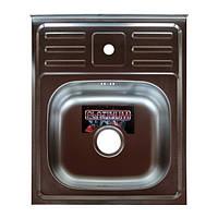 Кухонная мойка Platinum 5060 Satin 22715, КОД: 1617476