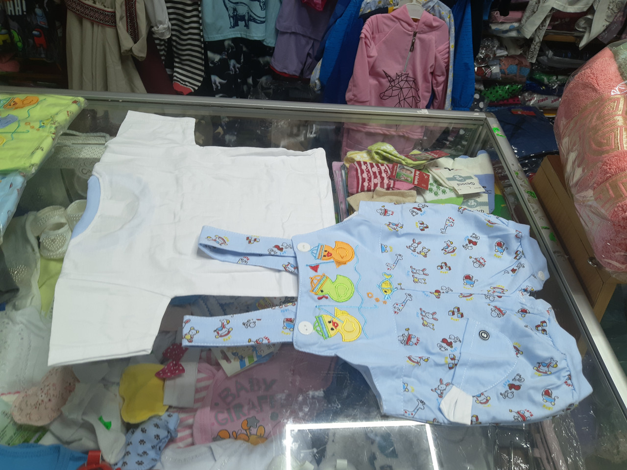 Костюм літній для хлопчика Пісочник футболка р. 62 - 86
