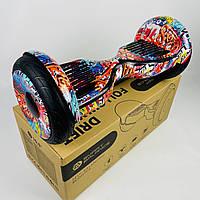 """Гіроскутер гіроборд сігвей 10,5"""" дюймів Segway самобаланс Оригінал Smart Balance Wheel Помаранчевий хіп хоп"""