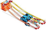 Трек Хот Вилс Коробка Hot Wheels GNJ01 Track Builder Unlimited Power Boost Box