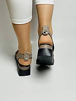 Y. FERRA. Турецькі босоніжки на низькій платформі.Натуральна шкіра Розмір 37 38 40, фото 8