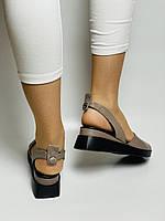 Y. FERRA. Турецькі босоніжки на низькій платформі.Натуральна шкіра Розмір 37 38 40, фото 10