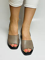 Y. FERRA. Турецькі босоніжки на низькій платформі.Натуральна шкіра Розмір 37 38 40, фото 9