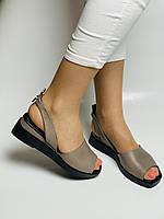 Y. FERRA. Турецькі босоніжки на низькій платформі.Натуральна шкіра Розмір 37 38 40, фото 6