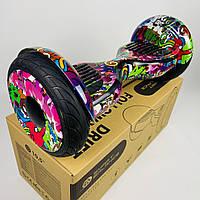 """Гіроскутер гіроборд сігвей 10,5"""" дюймів Segway самобаланс Оригінал Smart Balance Wheel Фіолетовий хіп хоп"""