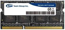 Память Team Group SODIMM DDR3 4Gb, 1333MHz, PC3-10600 (TED34G1333C9-S01)