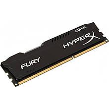 Память Kingston DDR3L 4GB, 1866MHz, PC3-14900, HyperX Fury Black (HX318LC11FB/4)