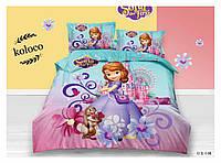 Детское полуторное постельное белье (постель Frozen Koloco 100% хлопок) София