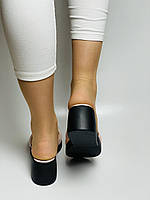Evromoda. Жіночі шкіряні шльопанці. Розмір 37 38 39 Туреччина, фото 9