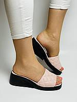 Evromoda. Жіночі шкіряні шльопанці. Розмір 37 38 39 Туреччина, фото 6