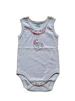 Боді-майка для дівчинки Garden baby 19411-88 рожевий 74