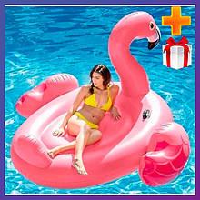 Надувний пліт для катання Intex 57288 Фламінго 203 x 196 x 124 см