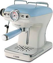 Кофеварка эспрессо Ariete Vintage 1389 blue (00M138915AR0)