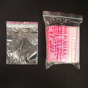 Пакеты с замком зиплок 80х100 мм (100шт), фото 2