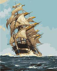 Картина за номерами (Корабель мрії) bk_1114