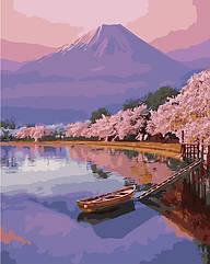 Картина за номерами (Рожевий захід) bk_1241