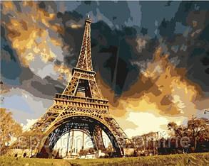 Картина за номерами (Ейфелева вежа) bk_1119