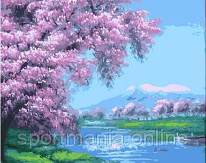 Картина за номерами (Красива весна) bk_1150